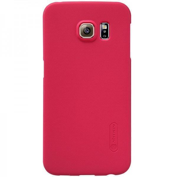Чехол-накладка Nillkin Frosted Shield для Samsung Galaxy S6 Edge (SM-G925) пластиковый красныйдля Samsung<br>Чехол-накладка Nillkin Frosted Shield для Samsung Galaxy S6 Edge (SM-G925) пластиковый красный<br>