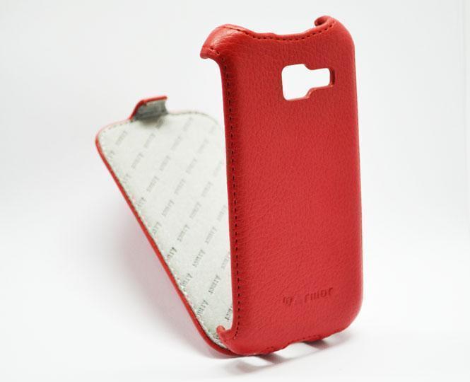 Чехол-книжка Armor Case для Samsung Galaxy Star Plus GT-S7262 искусственная кожа красныйдля Samsung<br>Чехол-книжка Armor Case для Samsung Galaxy Star Plus GT-S7262 искусственная кожа красный<br>