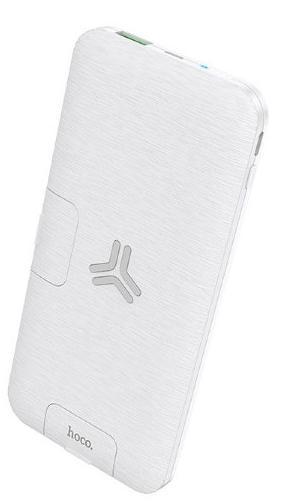 Беспроводное зарядное устройство Hoco S16 3 в 1 (зарядное устройство+внешний аккумулятор+держатель для смартфона) (белый) фото