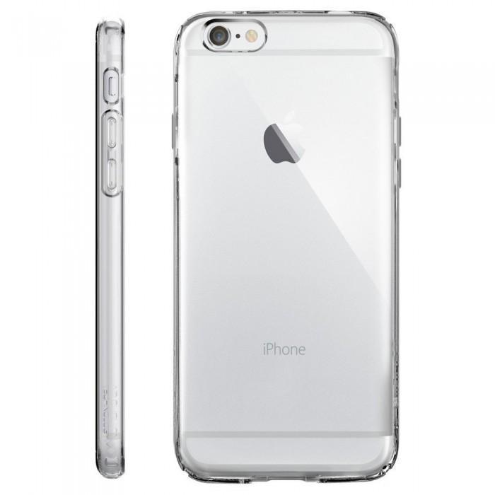 Купить Чехол-накладка Spigen Capsule для Apple iPhone 6/6S (кристально-прозрачный) SGP11753