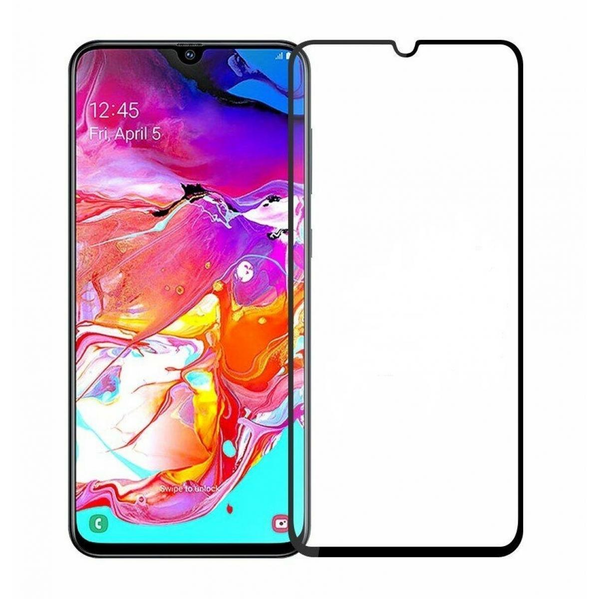 Купить Защитное стекло Glass PRO (9D) Screen для Samsung Galaxy A70 (SM-A705F) (черная рамка)