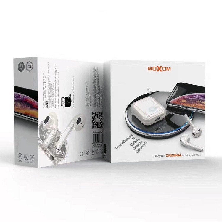 Беспроводная гарнитура Moxom AirPods (MX-WL01) (белый)