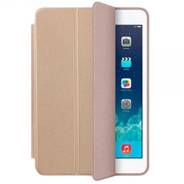 Чехол-книжка Smart Case для Apple iPad mini 4 (искусственная кожа с подставкой) золотойдля Apple iPad mini 4<br>Чехол-книжка Smart Case для Apple iPad mini 4 (искусственная кожа с подставкой) золотой<br>