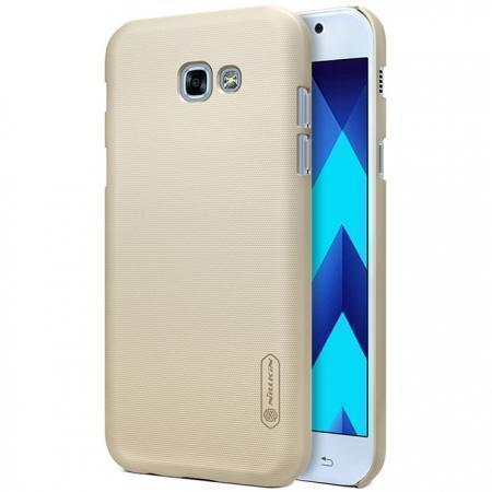 Чехол-накладка Nillkin Frosted Shield для Samsung Galaxy A3 (2017) SM-A320 пластиковый золотойдля Samsung<br>Чехол-накладка Nillkin Frosted Shield для Samsung Galaxy A3 (2017) SM-A320 пластиковый золотой<br>