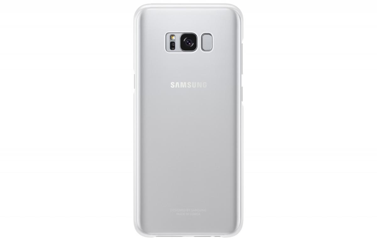 Чехол-накладка Samsung Clear Cover для Galaxy S8+ пластик прозрачно-серебристый (EF-QG955CSEGRU)для Samsung<br>Чехол-накладка Samsung Clear Cover для Galaxy S8+ пластик прозрачно-серебристый (EF-QG955CSEGRU)<br>