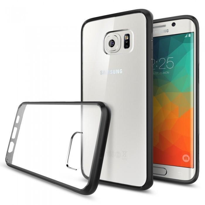 Купить Чехол-накладка Spigen Ultra Hybrid для Samsung Galaxy S6 Edge Plus (SGP11715) (Black)