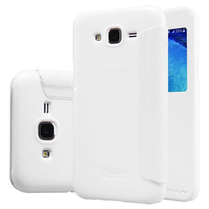 Чехол-книжка Nillkin Sparkle Series для Samsung Galaxy On5/O5/G5500/G550/Grand On 5.0 (белый) фото