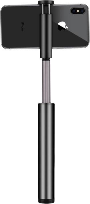 Монопод для смартфона Momax Selfie Light KM12D с Bluetooth кнопкой (Black)