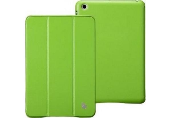 Чехол-книжка JisonCase Executive для Apple iPad Air (натуральная кожа с подставкой) зеленыйдля Apple iPad Air<br>Чехол-книжка JisonCase Executive для Apple iPad Air (натуральная кожа с подставкой) зеленый<br>