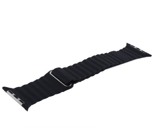 Купить Ремешок кожаный COTEetCI W7 Leather Magnet Band WH5205-BK для Apple Watch Series 4 40mm Черный