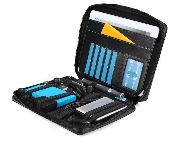 Универсальный чехол-сумка Rock Multifunctional для планшетов 9-10,1 дюймов с подставкой черныйУниверсальные чехлы<br>Универсальный чехол-сумка Rock Multifunctional для планшетов 9-10,1 дюймов с подставкой черный<br>