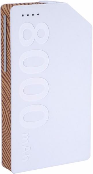 Аккумулятор внешний универсальный Remax Kang Platinum 8000 мАч white