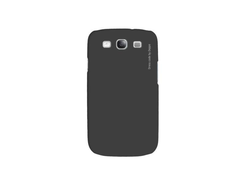 Купить Чехол-накладка Deppa Air Case для Samsung Galaxy S3 полиуретан+защитная пленка (черный)