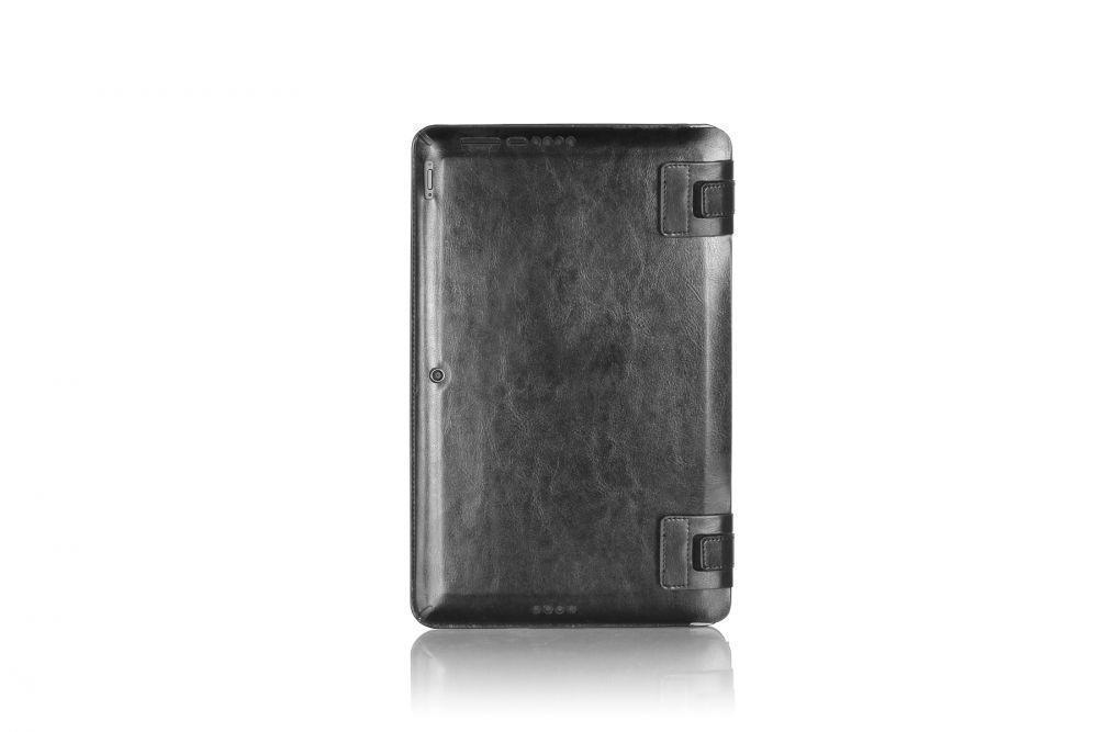 Чехол-книжка G-Case для Asus Transformer Book T200TA (натуральная кожа с подставкой) чёрныйдля ASUS<br>Чехол-книжка G-Case для Asus Transformer Book T200TA (натуральная кожа с подставкой) чёрный<br>