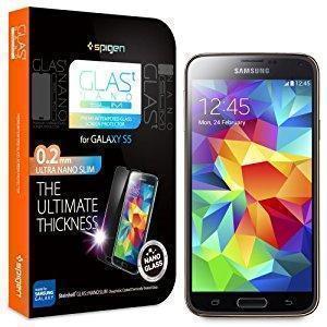 Защитное стекло Spigen SGP10841 GLAS.tR SLIM Privacy для Samsung Galaxy S5 прозрачное антибликовоедля Samsung<br>Защитное стекло Spigen SGP10841 GLAS.tR SLIM Privacy для Samsung Galaxy S5 прозрачное антибликовое<br>