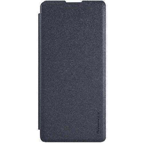 Чехол-книжка Nillkin Sparkle Series для Sony Xperia XA / XA Dual пластик-полиуретан (черный)для Sony<br>Чехол-книжка Nillkin Sparkle Series для Sony Xperia XA / XA Dual пластик-полиуретан (черный)<br>