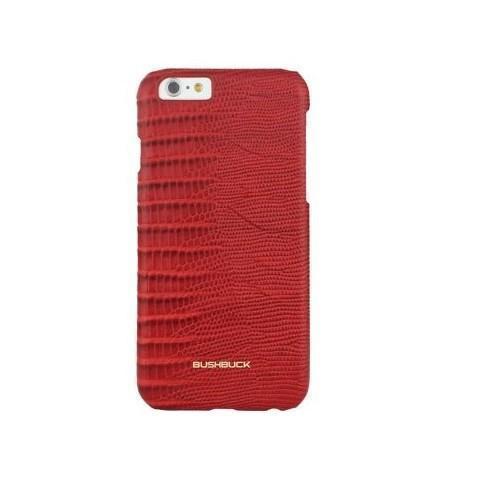 Чехол-накладка Bushbuck Baronage Caiman Hard для Apple iPhone 6/6S кожаный коричневыйдля iPhone 6/6S<br>Чехол-накладка Bushbuck Baronage Caiman Hard для Apple iPhone 6/6S кожаный коричневый<br>