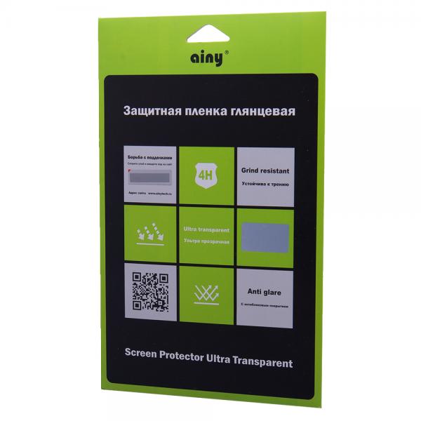 Защитная пленка Ainy для Samsung Galaxy Note 10.1 2014 Edition (SM-P6000/SM-P6050/SM-P605) глянцевая