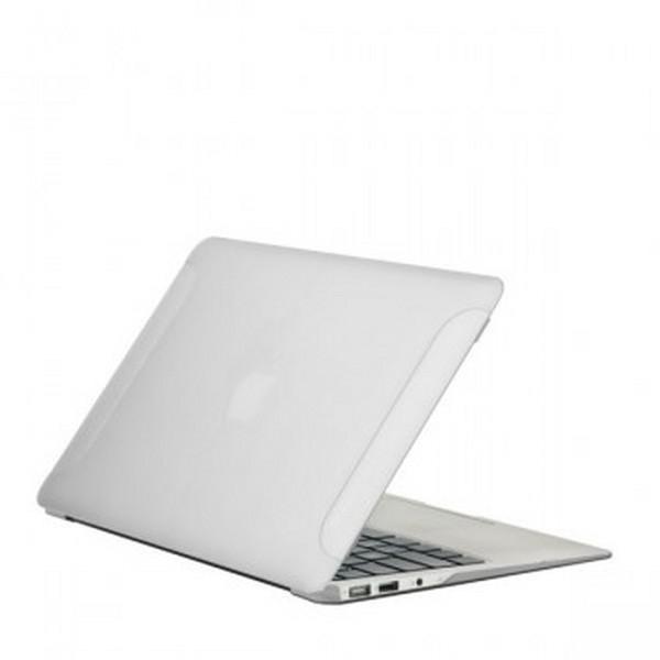 Чехол-накладка BTA-Workshop для Apple MacBook Air 13 матовая прозрачно-белая