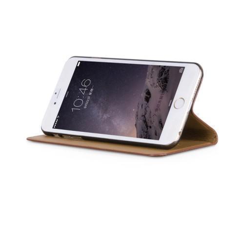 Чехол-книжка Hoco Luxury Series для Apple iPhone 6 Plus/6S Plus натуральная кожа coffe