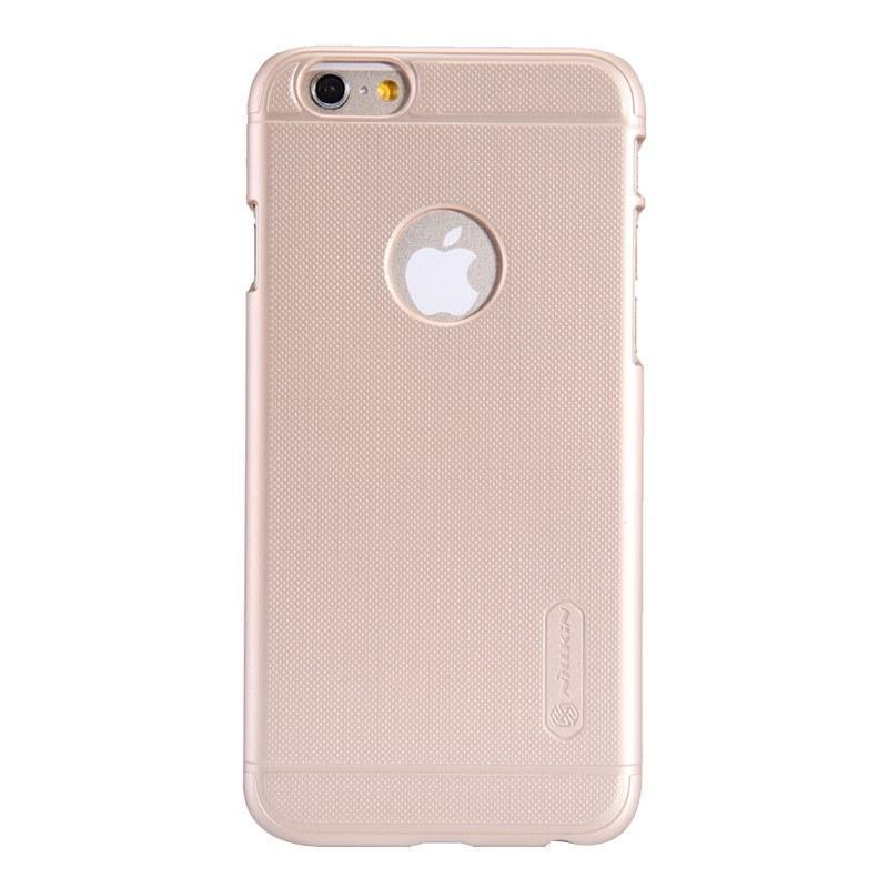 Чехол-накладка Nillkin Super Frosted Shield для Apple iPhone 6/6S пластиковый золотаядля iPhone 6/6S<br>Чехол-накладка Nillkin Super Frosted Shield для Apple iPhone 6/6S пластиковый золотая<br>