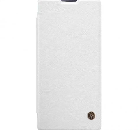 Чехол-книжка Nillkin QIN Leather Case для Sony Xperia XA Ultra /Ultra Dual натуральная кожа белыйдля Sony<br>Чехол-книжка Nillkin QIN Leather Case для Sony Xperia XA Ultra /Ultra Dual натуральная кожа белый<br>