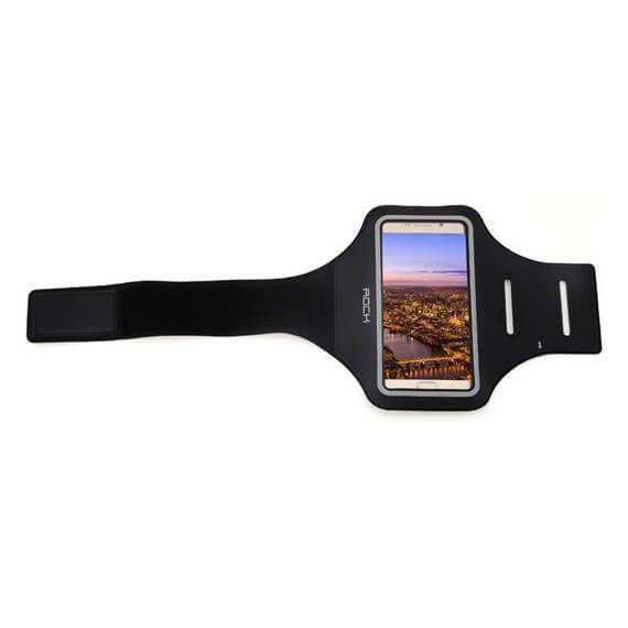 Купить Спортивный-чехол на руку Rock Sport Arm Bags для Apple iPhone 7 /6 /6S нейлон до 6 дюймов черный