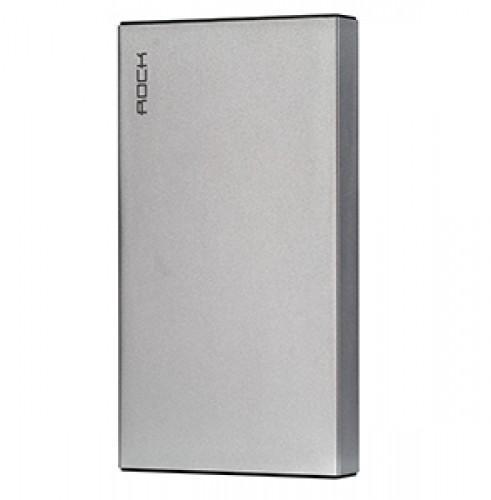 Универсальный внешний аккумулятор Rock Stone Power Bank 10000 mAh 1.2 А/ 2.4 А, USBx2 space grey