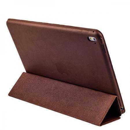 Чехол-книжка Smart Case для Apple iPad Pro 10.5 (искусственная кожа с подставкой) темно-коричневыйдля Apple iPad Pro 10.5<br>Чехол-книжка Smart Case для Apple iPad Pro 10.5 (искусственная кожа с подставкой) темно-коричневый<br>