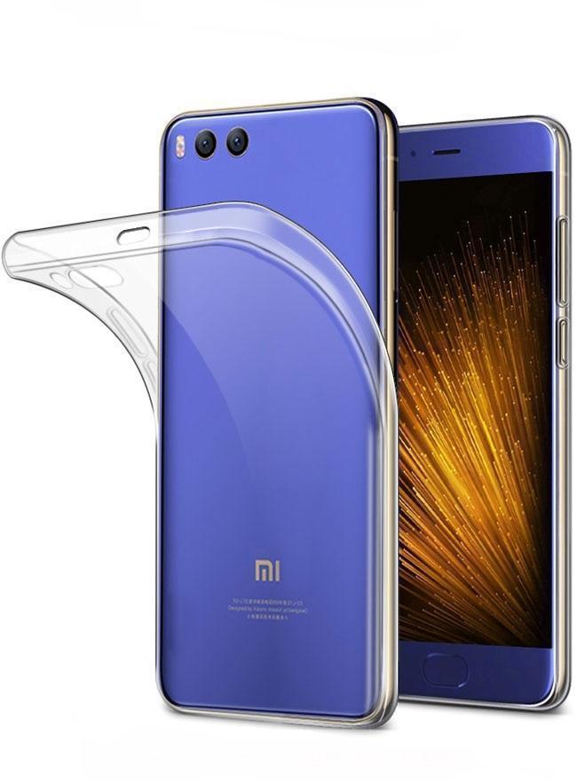 Чехол-накладка для Xiaomi Mi6 силиконовый прозрачныйдля Xiaomi<br>Чехол-накладка для Xiaomi Mi6 силиконовый прозрачный<br>