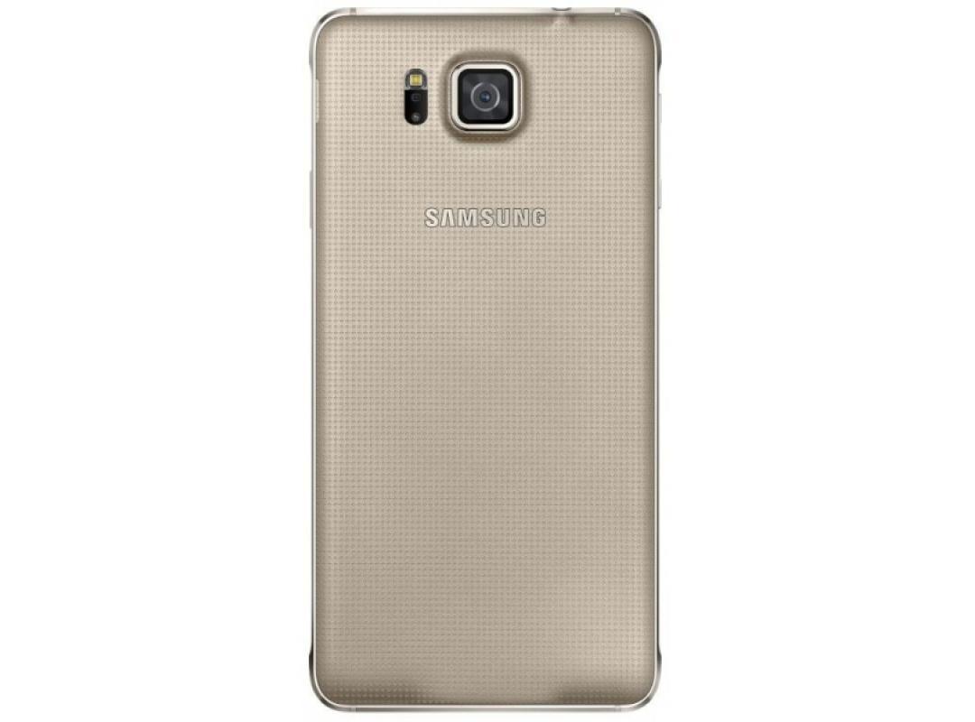 Задняя крышка Samsung для Galaxy Alpha SM-G850 пластик золотой (EF-OG850SFEGRU)для Samsung<br>Задняя крышка Samsung для Galaxy Alpha SM-G850 пластик золотой (EF-OG850SFEGRU)<br>