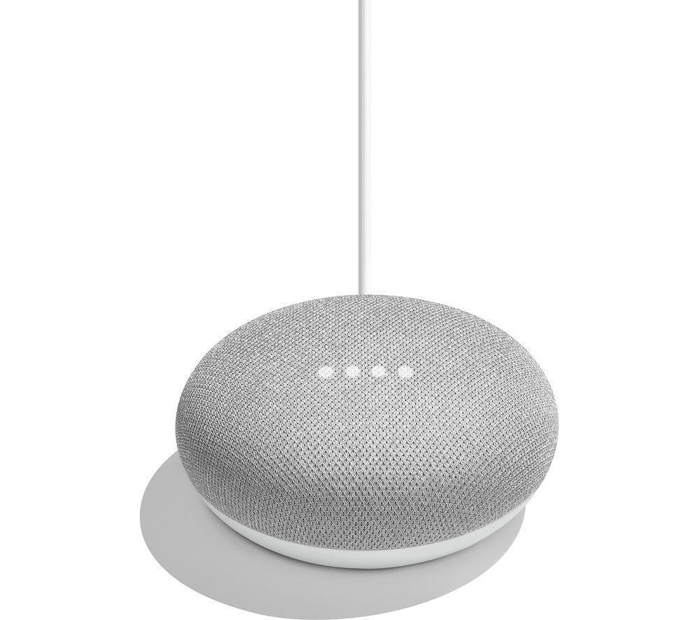 Портативная колонка Google Home Mini Charcoal/Серый