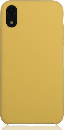 Купить Чехол-накладка Silicone Case для iPhone Xr силиконовый миндальный