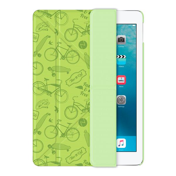 Чехол-книжка Deppa Wallet Onzo для Apple iPad Air 2 (искусственная кожа с подставкой) зеленый