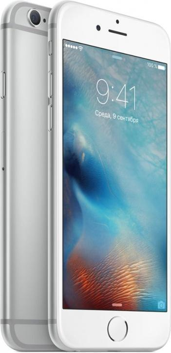 Apple iPhone 6S 16Gb (Silver) (MKQK2RU/A)