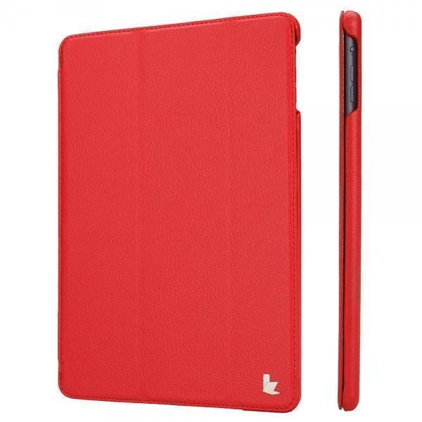 Чехол-книжка JisonCase для Apple iPad Air (искусственная кожа с подставкой) красныйдля Apple iPad Air<br>Чехол-книжка JisonCase для Apple iPad Air (искусственная кожа с подставкой) красный<br>