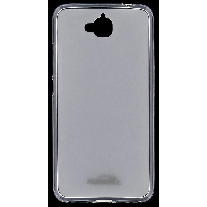 Чехол-накладка Jekod/KissWill для Huawei Y6 Pro силиконовый матовый прозрачно-белый