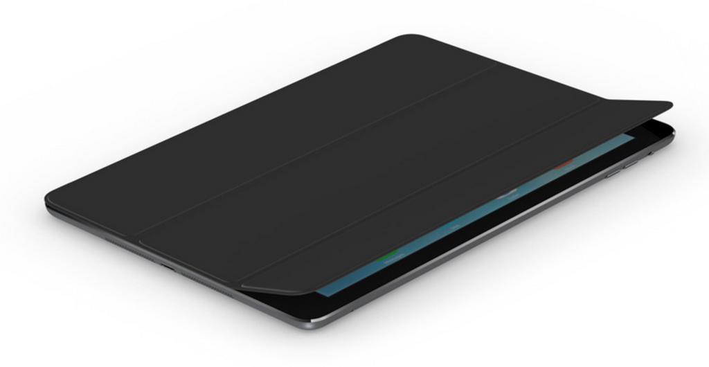 Чехол-книжка Smart Case для Apple iPad Air (искусственная кожа с подставкой) черный