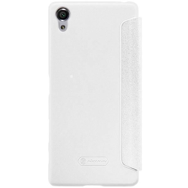 Чехол-книжка Nillkin Sparkle Series для Sony Xperia X / X Dual пластик-полиуретан (белый)