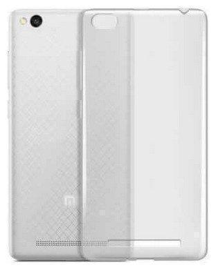 Чехол-накладка для Xiaomi Redmi 4A силиконовый прозрачныйдля Xiaomi<br>Чехол-накладка для Xiaomi Redmi 4A силиконовый прозрачный<br>