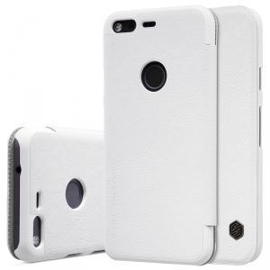 Чехол-книжка Nillkin QIN Leather Case для Google Pixel XL натуральная кожа белыйдля Google<br>Чехол-книжка Nillkin QIN Leather Case для Google Pixel XL натуральная кожа белый<br>