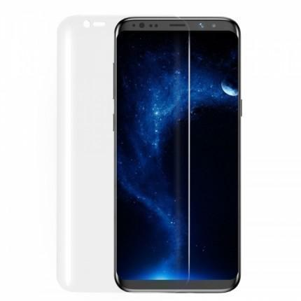 Защитная силиконовая пленка Full Screen Coverage для Galaxy S8 (прозрачная) фото