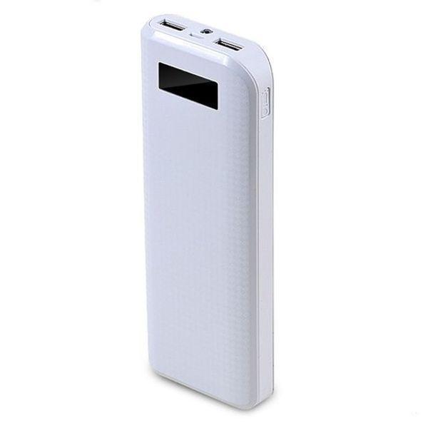 Универсальный внешний аккумулятор Remax Proda 20000 mAh 1 А/ 2.1 А, USBx2 пластик WhiteУниверсальные внешние аккумуляторы<br>Универсальный внешний аккумулятор Remax Proda 20000 mAh 1 А/ 2.1 А, USBx2 пластик White<br>