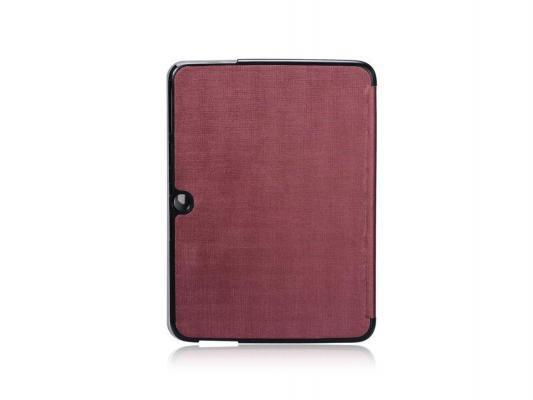 Чехол-книжка Gissar Metallic для Samsung Galaxy Tab 3 10.1 (P5200/P5210) натуральная кожа бордовыйдля Samsung<br>Чехол-книжка Gissar Metallic для Samsung Galaxy Tab 3 10.1 (P5200/P5210) натуральная кожа бордовый<br>