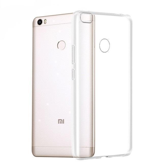 Чехол-накладка для Xiaomi Mi Max 2 силиконовый прозрачныйдля Xiaomi<br>Чехол-накладка для Xiaomi Mi Max 2 силиконовый прозрачный<br>