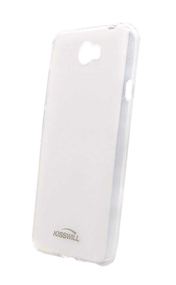 Чехол-накладка Jekod/KissWill для Huawei Y5 силиконовый матовый прозрачно-белыйдля Huawei<br>Чехол-накладка Jekod/KissWill для Huawei Y5 силиконовый матовый прозрачно-белый<br>