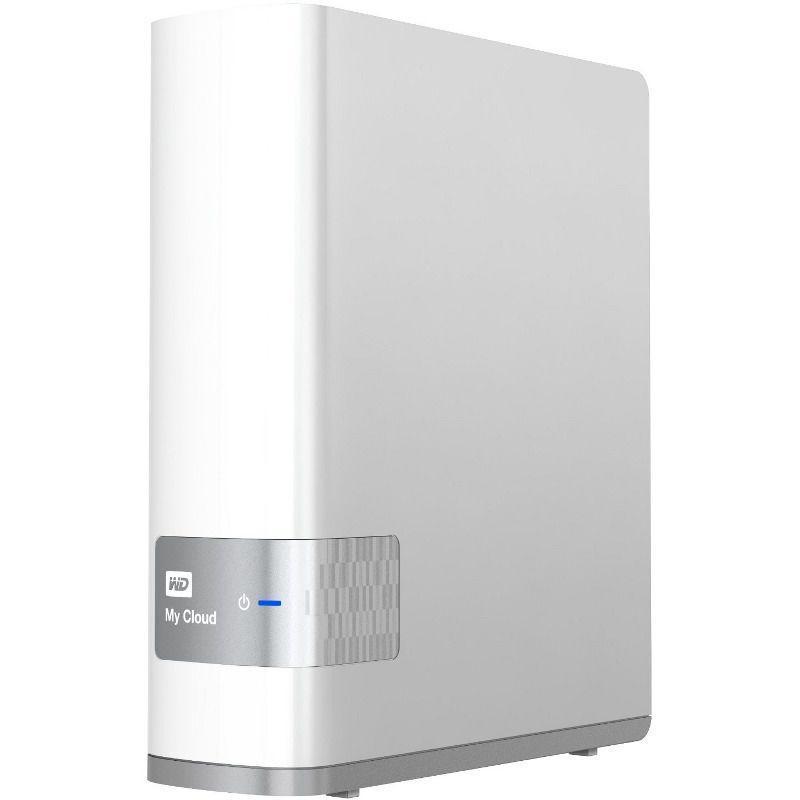 Сетевое хранилище Western Digital My Cloud 4 TB (WDBCTL0040HWT-EESN)Жесткие диски<br>Сетевое хранилище Western Digital My Cloud 4 TB (WDBCTL0040HWT-EESN)<br>