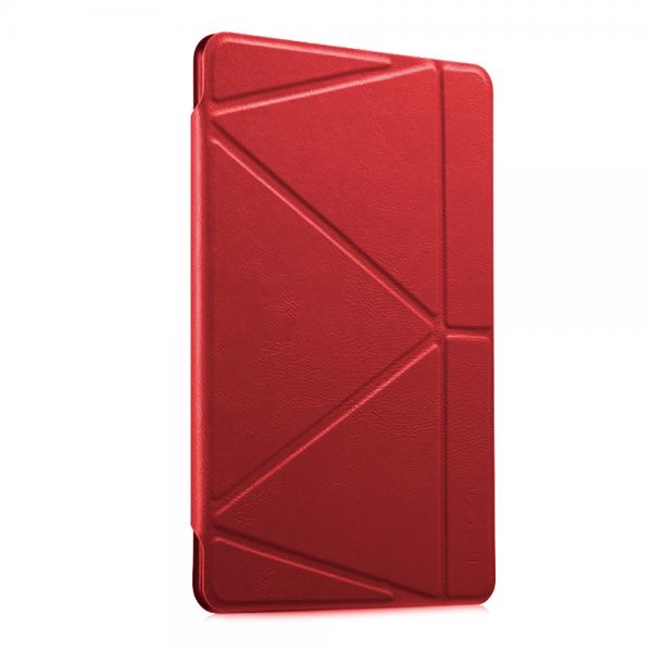 Купить со скидкой Чехол-книжка The Core Smart Case для Apple iPad Air (силикон полиуретан с подставкой) красный