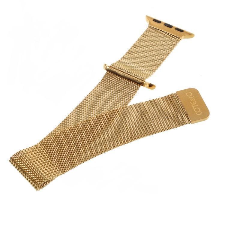 Ремешок нержавеющая сталь COTEetCI W6 Magnet WH5203-GD для Apple Watch Series 1/2 42mm (Золотой) фото