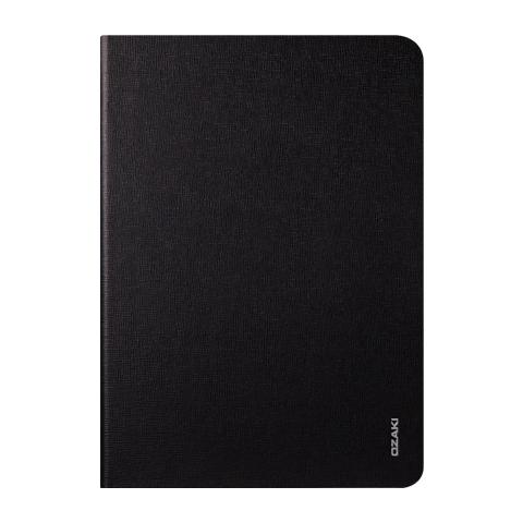 Чехол-книжка Ozaki O!coat Slim (OC126BK) для Apple Air 2 (искусственная кожа с подставкой) Black